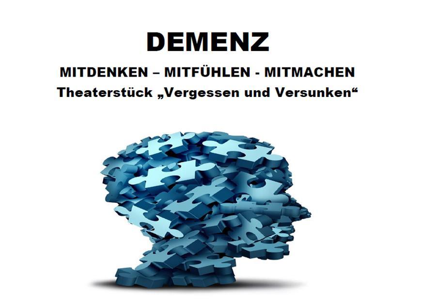 """Theaterstück und Erfahrungsaustausch über """"Demenz"""""""